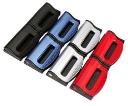 Wholesale New arrival Vehicle Auto Car Safety Seat Belt Strap Clip Stopper Adjuster Convenient Car Metal SeatBelt Clip w retail box set