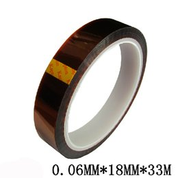 Wholesale Shirts For Sublimation Wholesalers - Wholesale-18MM x 33M Masking tape Sublimation High Temperature Tape For t-shirt, mugs, plate, tiles etc