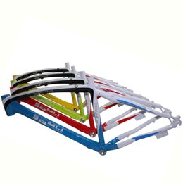 Wholesale BMW Mountain Bike Frames Custom Brand Bicycle Frames Three Colors Stitching Bike Frames on Sale A18
