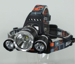 5000LM 3 xCREE XML T6 LED Rechargeable Headlight Headlamp 18650 Head Torch Lamp+2XCharger