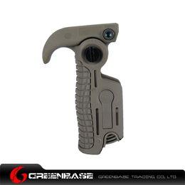 Wholesale fold grip folding foregrip fit mm rail with length ajustable leg for ar15 ak m4 airsoft guns dark earth GTA1102