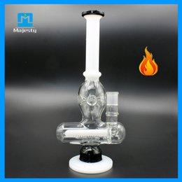 12inch glass bongs 18mm ash catcher waterpipe pulse glass bongs glass bubblers oil burner glass free shipping