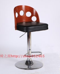 Wholesale European fashion solid wood bar chair stool swivel chair bar chair high chairs at the front desk chair lift chair