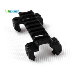 Wholesale MP5 Gun Bi directional Tactical Low Profile Weaver Picatinny Rail Base Mount made in China