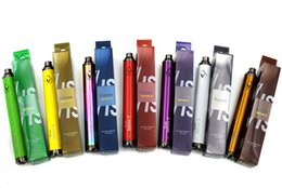 Wholesale Top quality Vision Spinner mAh Ego twist V vision spinners II variable voltage battery for Electronic cigarette atomizers DHL