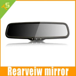 Wholesale Car Rear View Mirror Monitor quot Color TFT LCD Display Car Parking sensor Auto Adjust Brightness
