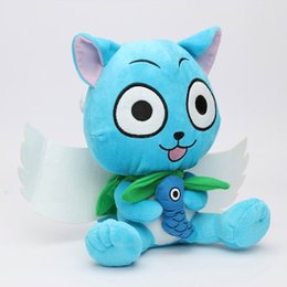 Fairy Tail Plush Toys 12 inch 30cm Cute Happy Dolls for Children's Christmas Gifts 4PCS per lot