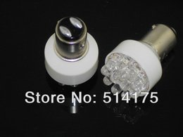 5X Super Bright White 1157 1076 12 LED Turn Tail Parking Corner Signal Stop Light Bulb Lamp Free shipping order<$18no track
