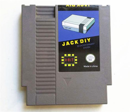 Wholesale JACK DIY RAM game Cartridge for Famicom NES Game Card Inluding Gray Product Shell with G SD Card