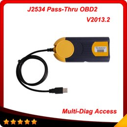 Wholesale 2015 Top Rated Newest Version V Multi Di g Access J2534 Pass Thru OBD2 Device Multi Diag Access J2534 Interface