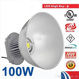 100W LED High Bay Light 85-265V Industrial LED Lamp 45 Degree High Bay Lighting 10000LM Led Lights for Workshop Factory CE ROHS Approval