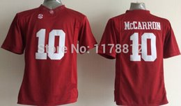 Factory Outlet- aj mccarron jersey youth kids #10 alabama football jersey red authentic ncaa cheap college football jerseys mix order