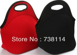 Free Shipping Top-selling Neoprene Material Lunch bag Cooler bag In Different Colors and Sizes Durable and shockproof picnic case