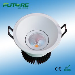 5W,6W Slim cob led downlight,dimmable high power Cree Chip COB LED ceiling light the recessed downlight stainless led