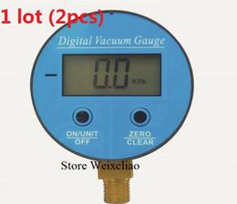 Wholesale Digital Vacuum Gauge Pressure Gauge Battery Powered Digital LCD Display Manometer G1 KPa
