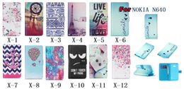 Wholesale Flower EYE Live Life Dreamcatcher Eiffel Tower Lace Boat Anchor Wallet Leather For Nokia Microsoft Lumia Elephant Case Bird Purse Pouch