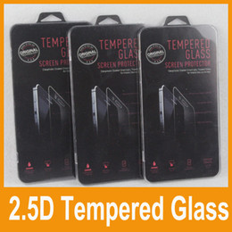 Wholesale New D Tempered Glass For Iphone Iphone Plus Screen Protector mm Explosion Proof Film Guard For iphone S Galaxy S4 S5 Note