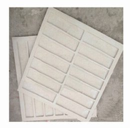 Wholesale man made stone soft Cement concrete tile ceramic tile High strength Low shrinkage villa mold artificial stone mould silicone mold