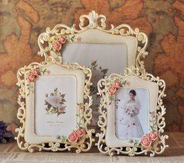 Wholesale 2015 New Arrival European Style Tranquil Resin Wedding Frame Wedding Supplier and Inch Wedding Photo Frame Wedding Supplier