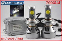 2016 double t5 DHL 4 Règle H4 HB2 9003 72W 7000LM LED CREE Auto phares système Hi / Low double 4S faisceau UPGRADED MTG2 CHIP Xenon Blanc modifiable conduite Brouillard double t5 offres