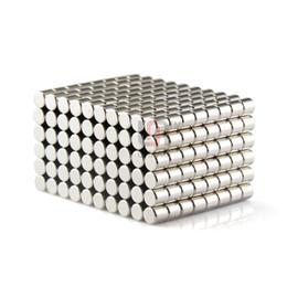 Aimant néodyme forte à vendre-Livraison gratuite 100pcs solide ronde NdFeb Cylindre 5mm x 5mm Dia N50 Rare Earth Magnet néodyme
