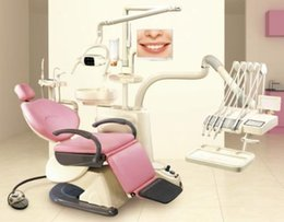 Wholesale New Dental Unit Chair F6 Model Soft Leather Controlled Integral FDA CE
