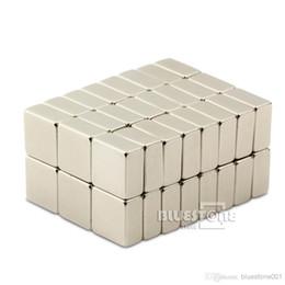 Aimant néodyme forte à vendre-50pcs N50 Forte Bloc Cuboid Magnets 10mm x 10mm x 5mm Rare Earth néodyme