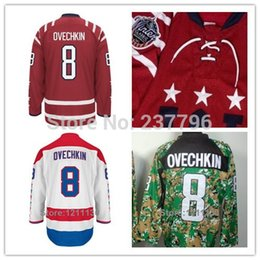 Washington 2015 Winter Classic Red 8 Alexander Alex Ovechkin Jersey Ice Hockey Ovechkin Red Jersey High Quality