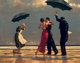 Wholesale Jack Vettriano Paintings for sale The Singing Butler Canvas Art Reproduction High Quality Handmade
