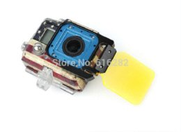 Underwater Filter Red Yellow color fit Waterproof Case foldable Diving Dive Lens Filter for GoPro Hero 3