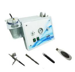4 in 1 water & Hydro dermabrasion diamond microdermabrasion oxygen jet peeling ultrasonic skin scrubber machine with CE approval