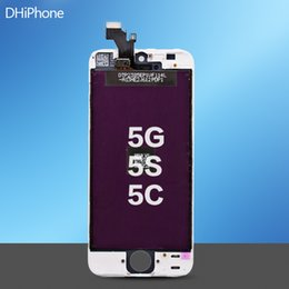 Wholesale For iPhone G S C screen Iphone5 resolution Replacement Inch cheap price LCD touch screen via DHL