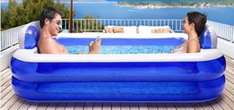 Wholesale 195 CM Inflatable Swimming Pool SPA Pool Beach Pool With Air Pump