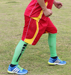 new arrival good selling Compression Running Leg Sleeves Calf Shin Splint Womens Mens Socks Track neon