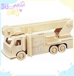 Best Selling!!Free Shipping 3D DIY Puzzle Assembling Model Puzzle Toy car Model Engines,New Favourable 3D Wooden Puzzle