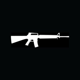 Wholesale AR Sticker AR15 Vinyl for Car Window Decal Gun Rifle Bear Arms mm Automatic Truck A Fun