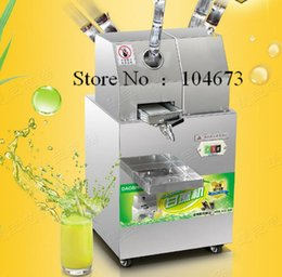 Wholesale Free ship SXC Commercial Sugar Cane juicer Electric Juice Extractor kg H Automatic Adjustment Stainless Steel Cane Juicer