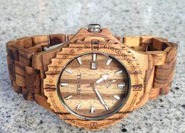Wholesale wood watch wooden watches waterproof watch water proof men watch women watch best gift wrist watch wood Valentine day gifts