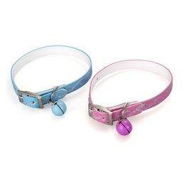 Wholesale 2 Adjustable Cat Kitty Kitten Reflective Collar w Bell