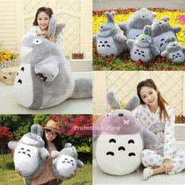 Wholesale Lovely Cartoon HotSale Totoro Plush Toys In cm Kids Toys Small Cat Dolls Girls Birthday Present Christmas Tuba MYF20 New