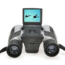 Wholesale 5 Mega Pixels quot TFT LCD Digital Camera with Telescope and x Digital Zoom Binocular Digital Camera Binocular Camcorder DV