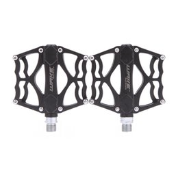 Wholesale 1Pair Lightweight Aluminium Alloy Cycling Pedals Mountain Road MTB Bike Bicycle BMX Pedals Sealed Bearing Flat Platforms