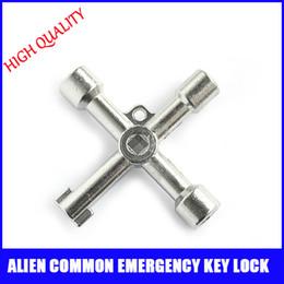 Wholesale Silver hot sale useful Alien common emergency key lock Door General locks universal open door locks
