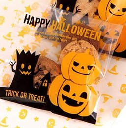 Halloween Gift Bags, Small Accessories Cellophane Favor Mini Bags, Self Seal Party Packaging 300pcs lot