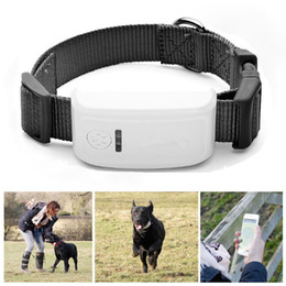 4 Band Mini Waterproof GPS Tracker Tracking Device GPS Tracking position Location For Pet Dog Cats Real Time Locator Alarm with Collar