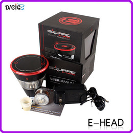 Wholesale Newest design square e head ehead e head e hose mini ehose e shisha square cartridge refillable e hookah disposable hookah DHL FREE