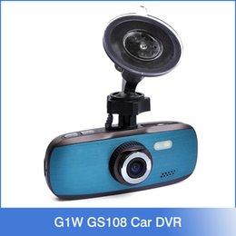 Wholesale Original Car Video Recorder G1W GS108 with Novatek WDR Technology AVC P FPS G Sensor quot LCD Car DVR