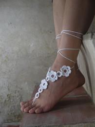 Wedding Barefoot sandal white, crochet barefoot sandles shoes, barefoot sandal, Beach wedding, Destination wedding, Bridal sho, Gift for her