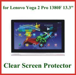 5pcs Crystal Screen Protector for Lenovo Yoga Tablet 2 Pro 1380F for Lenovo Yoga2 Pro 13 Tablet PC Protective Film