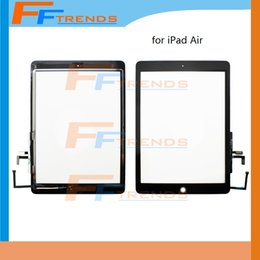 Wholesale Factory Supplier for iPad Air th Touch Screen Digitizer Assembly with Home Button White Black Glass Panel Good Price